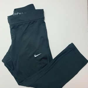 Nike Dri Fit Capris Run fast love fearless